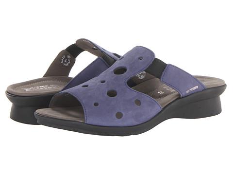Mephisto - Petula (Indigo Bucksoft) Women's Sandals