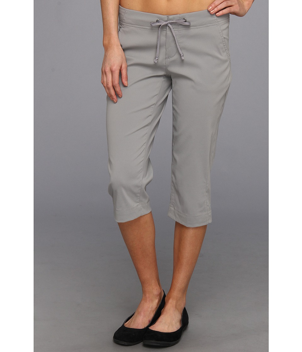 Columbia - Anytime Outdoor Capri (Light Grey) Women's Capri