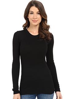 SALE! $16.99 - Save $20 on LAmade Long Sleeve Crewneck Thermal Top (Black) Apparel - 54.08% OFF $37.00