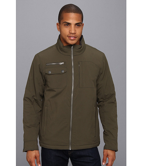 Prana - Carter Jacket (Dark Olive) Men's Coat