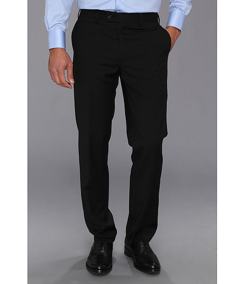 DKNY - Black Plain Pants (Black) Men