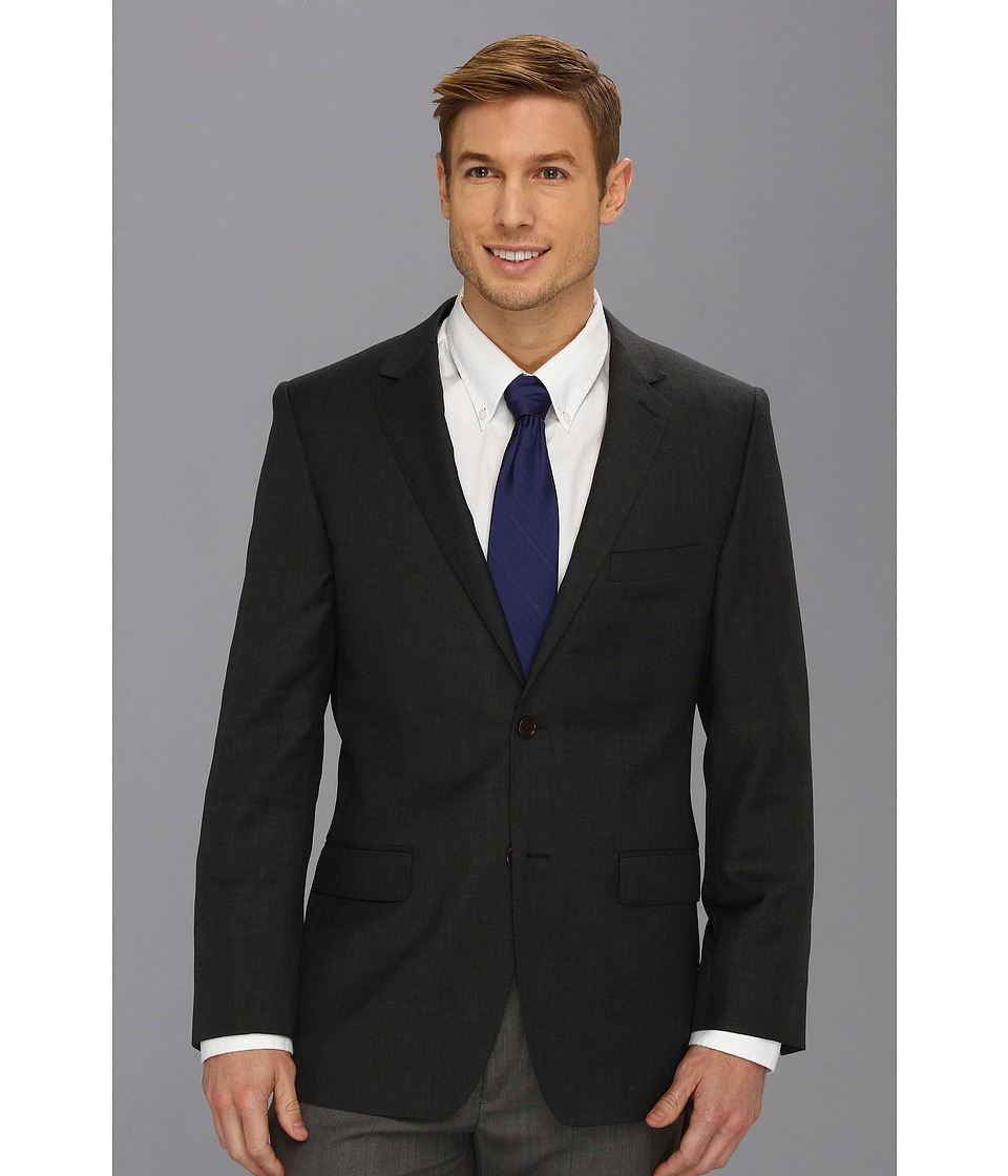 DKNY - Grey Plain Jacket (Grey) Men's Jacket