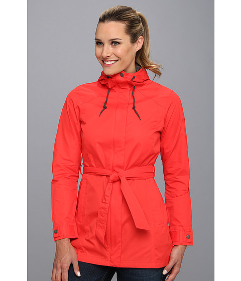 Columbia - Pardon My Trench Rain Jacket (Red Hibiscus) Women
