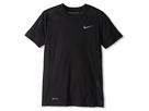 Nike Kids Hyper Speed S/S Top (Little Kids/Big Kids) (Black/Black/Black/Cool Grey)