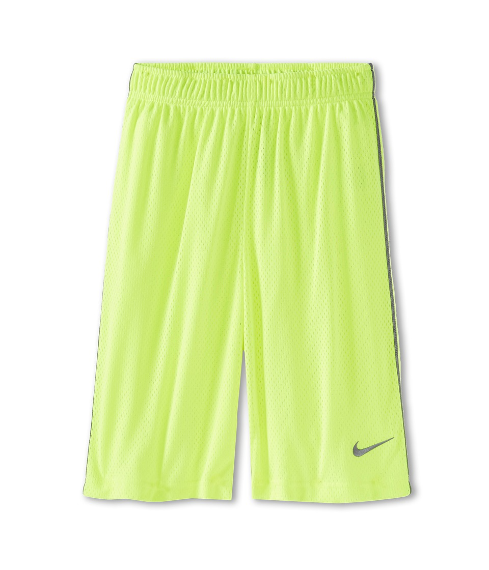 Nike Kids - Monster Mesh Short (Little Kids/Big Kids) (Volt/Cool Grey/Cool Grey) Boy's Shorts