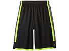 Nike Kids Triple Double Short (Little Kids/Big Kids) (Anthracite/Cool Grey/Volt/Cool Grey)