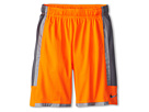 Nike Kids Triple Double Short (Little Kids/Big Kids) (Total Orange/Cool Grey/Cool Grey)