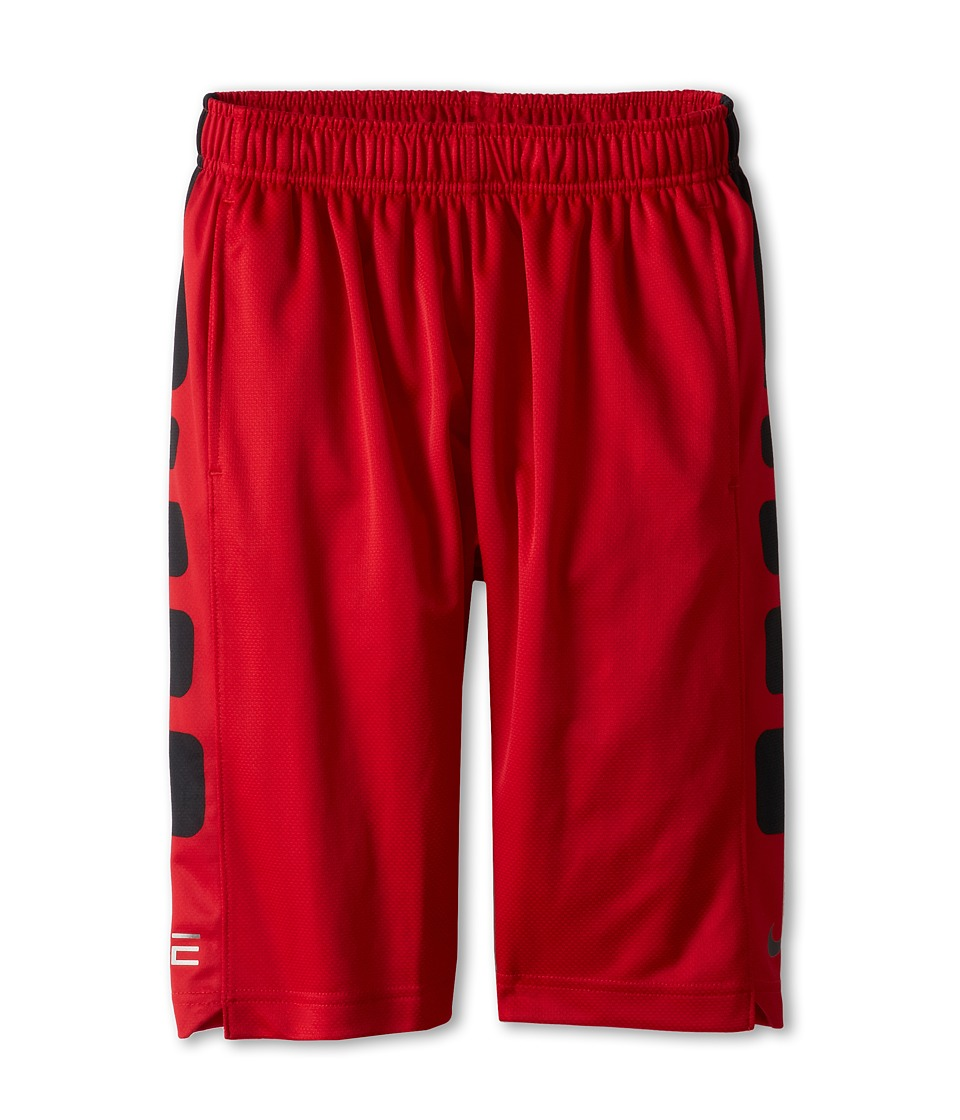 Nike Kids - Elite Stripe Short (Little Kids/Big Kids) (Gym Red/Black/Black) Boy's Workout