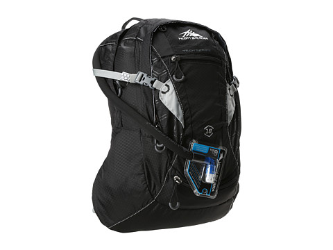 High Sierra - Marlin 18L Hydration Pack (Black/Silver) Luggage