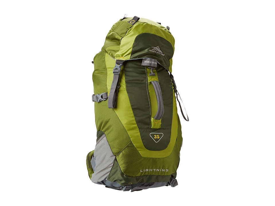 High Sierra - Lightning 35 Frame Pack (Amazon/Pine/Leaf/Charcoal) Backpack Bags