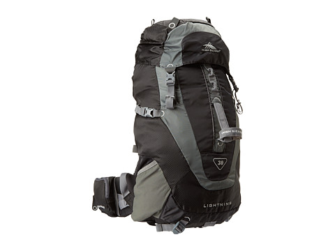 High Sierra - Lightning 30 Frame Pack (Black/Charcoal) Luggage