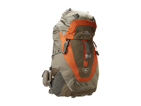 High Sierra - Lightning 35 Frame Pack (Cliff/Rock/Auburn/Charcoal) Backpack Bags