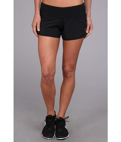 Pearl Izumi - W Flash Short (Black/Aruba Blue) Women's Shorts