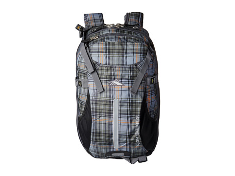 High Sierra - Symmetry (Green Gray Plaid) Bags