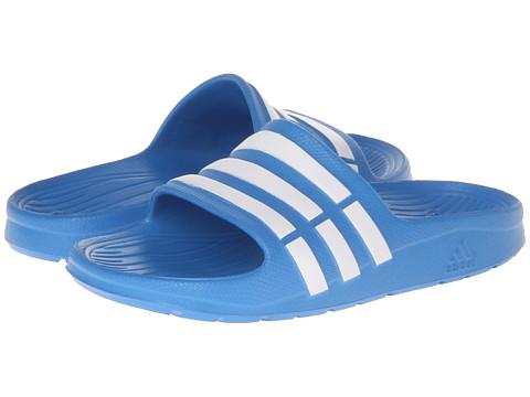 Adidas Duramo Slide Sandals children Vivid Blue / Running White