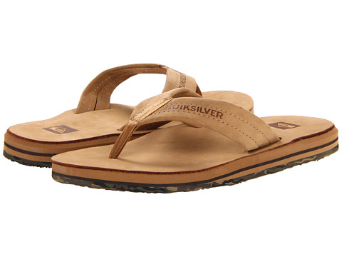 Quiksilver - Port (Tan Camo) Men's Sandals
