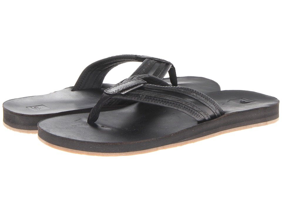 Quiksilver - Renovation 3 (Black/Grey) Men's Sandals