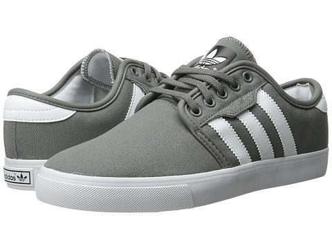 adidas Skateboarding - Seeley (Mid Cinder/White/Black) Men's Skate Shoes