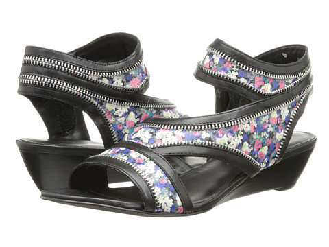 Rebecca Minkoff - Lorant 35mm (Multi Floral Print Leather/Black Lux Calf) Women