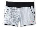 Nike Kids Sport Knit 3 GFX 1 Short (Little Kids/Big Kids) (White/Black/Vivid Pink)