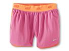 Nike Kids Sport Mesh Short 4 (Little Kids/Big Kids) (Red Violet/Turf Orange/Light Base Grey)
