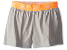Nike Kids Icon Woven 2-in-1 Short (Little Kids/Big Kids) (Base Grey/Atomic Orange/Light Base Grey)