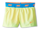 Nike Kids Icon Woven 2-in-1 Short (Little Kids/Big Kids) (Volt Ice/Atomic Orange/Atomic Orange)