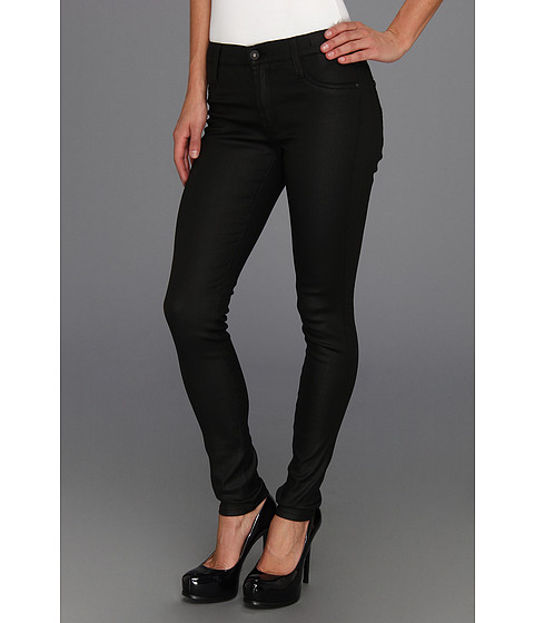 James Jeans - James Twiggy Legging in Black Jeather (Black Jeather) Women
