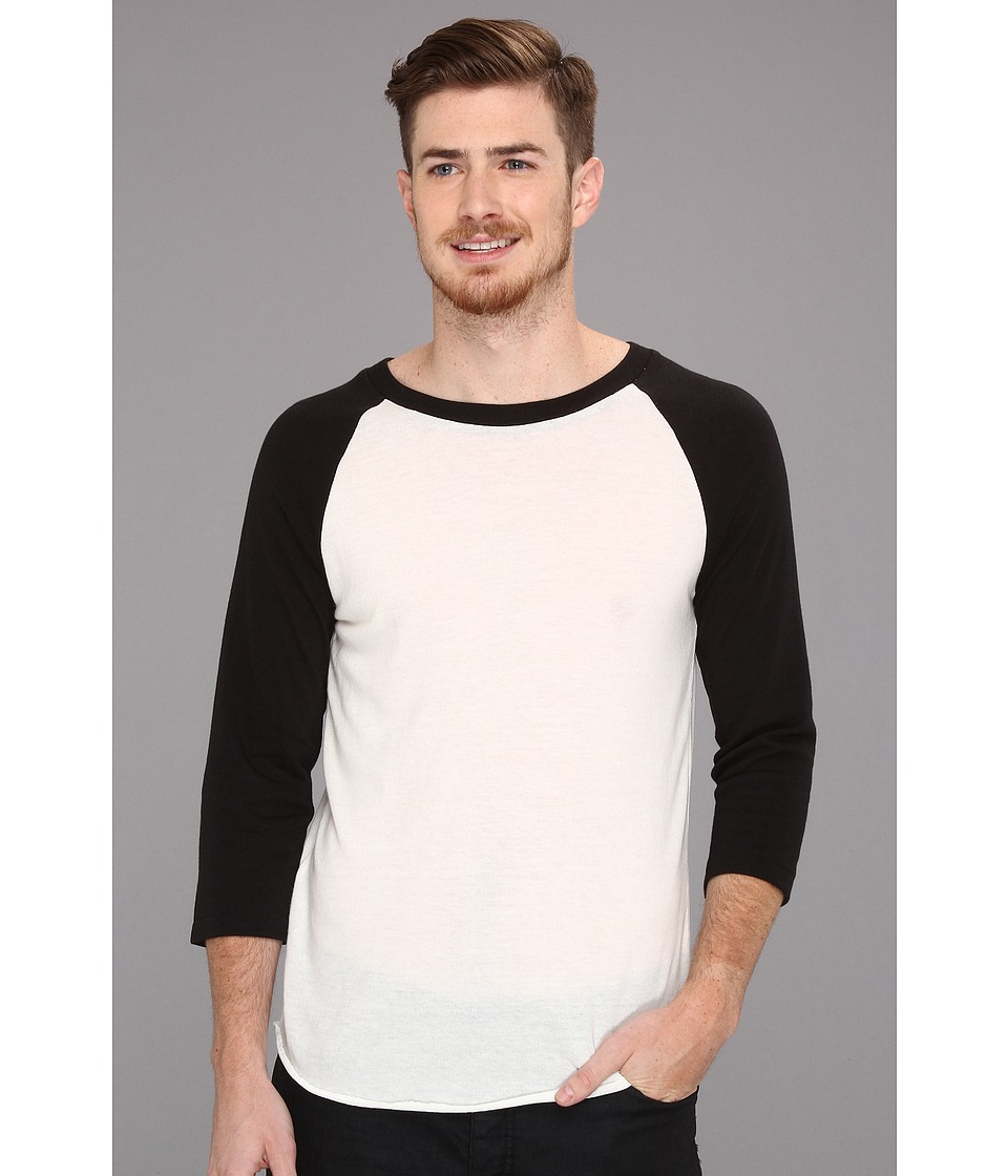 Alternative - Baseball Tee (Eco True Black) Men's T Shirt