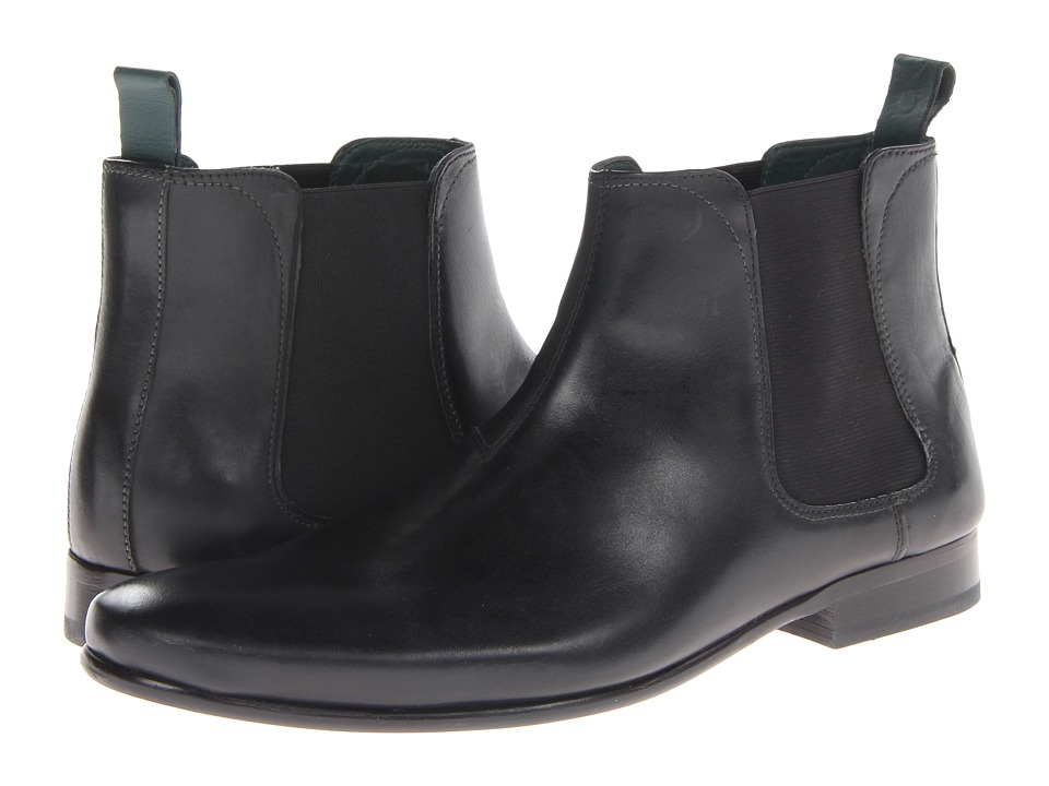 Ted Baker Buurg (Black Leather) Men