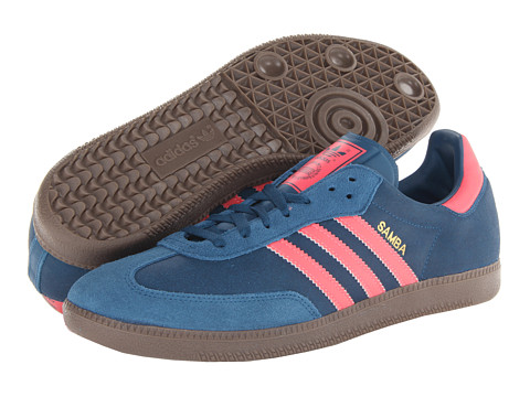 ... UPC 887373761116 product image for adidas Originals Samba (Tribe Blue/ Red Zest/Gum ...