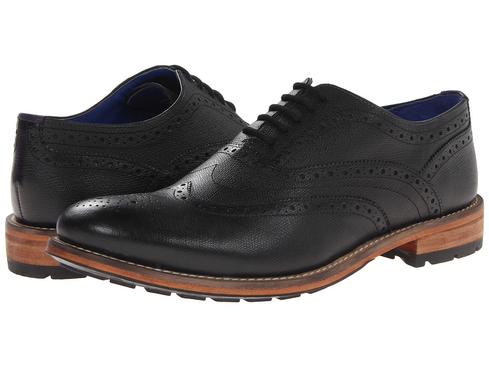 Ted Baker - Guri 7 (Black Leather) Men's Shoes