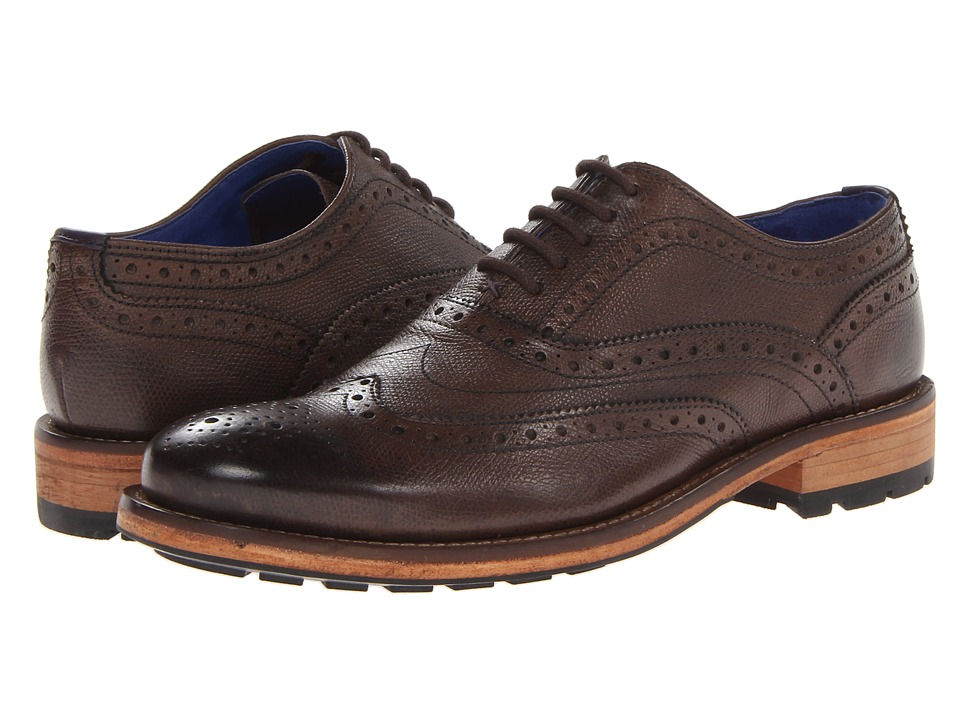 Ted Baker - Guri 7 (Brown Leather) Men's Shoes
