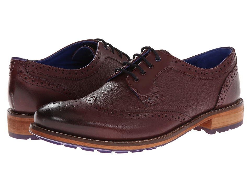 Ted Baker Cassiuss 3 (Dark Red Leather) Men