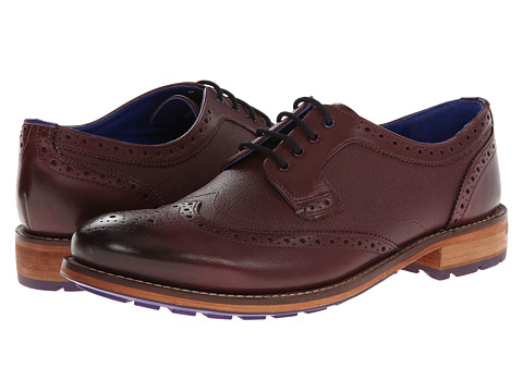 Ted Baker - Cassiuss 3 (Dark Red Leather) Men