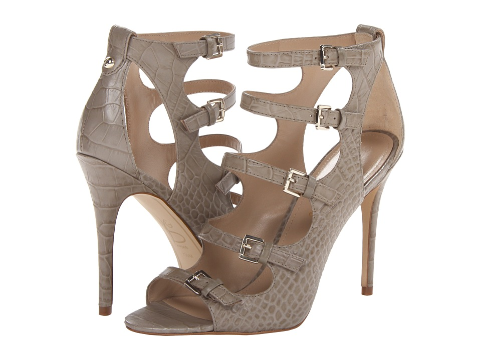 Joan & David - Novara (Taupe Embossed Croco) High Heels