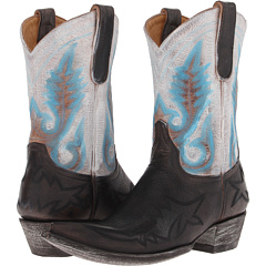 Old Gringo Nevada (Snow/Blue) Cowboy Boots