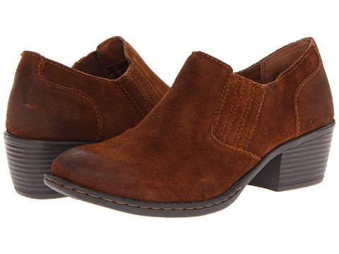 b.o.c. Catalina (Brown Suede) Women's Slip on  Shoes