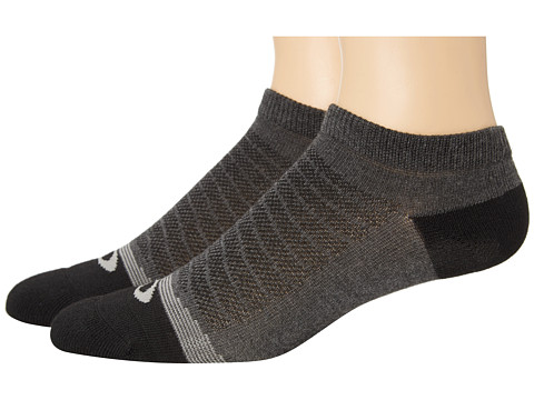 Oakley - Lightweight High Performance Sock 2-Pack (Jet Black) Women's No Show Socks Shoes