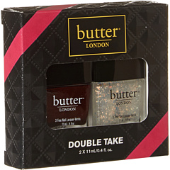 SALE! $14.99 - Save $9 on Butter London Fire Lacquer Overcoat Duo (N A) Beauty - 37.54% OFF $24.00