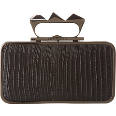 SALE! $126.99 - Save $41 on BCBGMAXAZRIA Baguette Knuckle Duster Clutch (Black) Bags and Luggage - 24.41% OFF $168.00