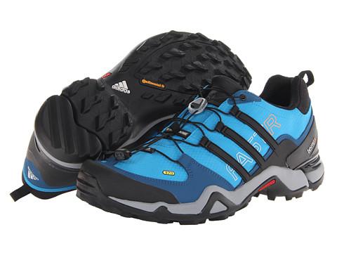 adidas Outdoor - Terrex Fast R (Solar Blue/Black/Solar Zest) Men