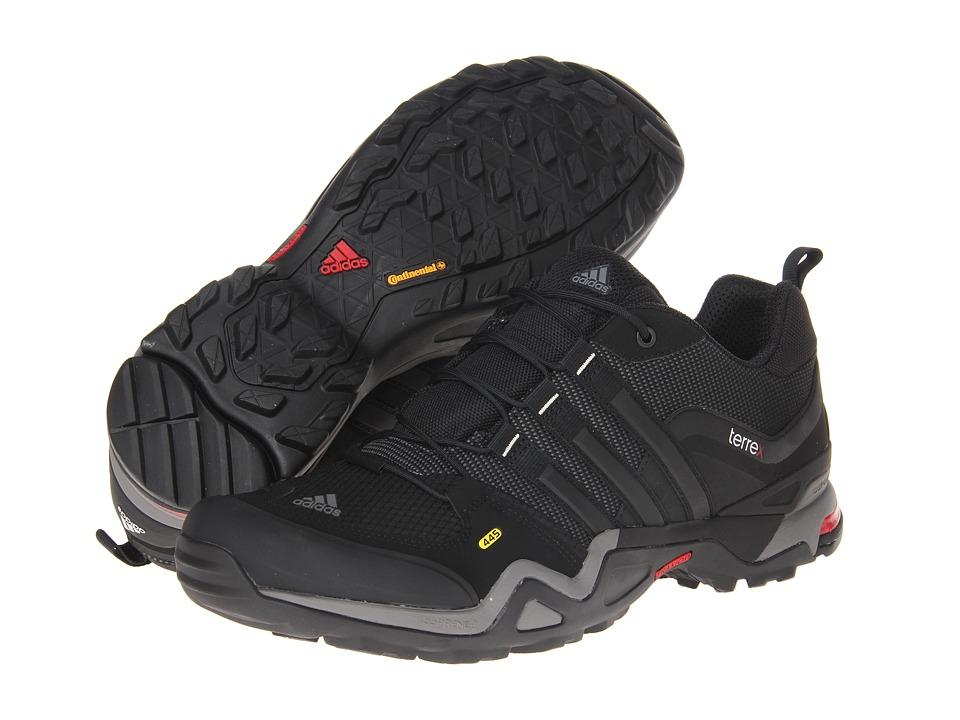 adidas Outdoor - Terrex Fast X (Carbon/Black/Light Scarlet) Men