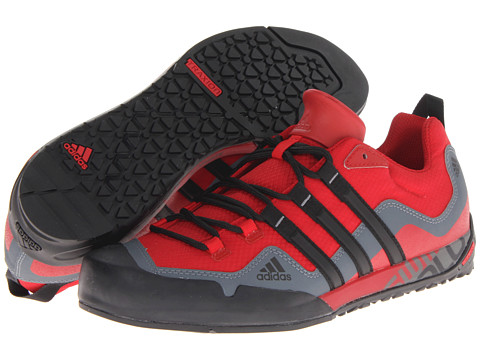 e1a61b5e8 ... UPC 887373601757 product image for adidas Outdoor Terrex Swift Solo  (University Red Black  ...