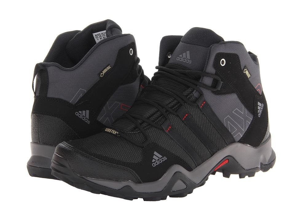 adidas Outdoor - AX 2 Mid GTX (Dark Shale/Black/Light Scarlet) Men's Shoes