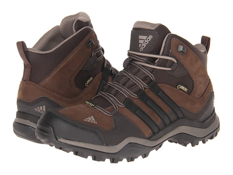 adidas Outdoor - Kumacross Mid GTX Leather (Espresso/Black/Dark Brown) Men's Hiking Boots