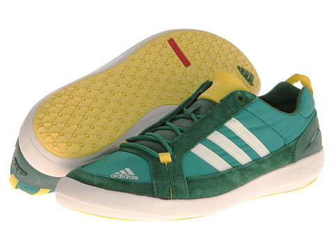 Adidas Outdoor Boat Lace DLX Athletic Shoes Vivid Green / Chalk / Amazon Green