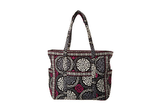 Vera Bradley - Get Carried Away Tote (Canterberry Magenta) Tote Handbags