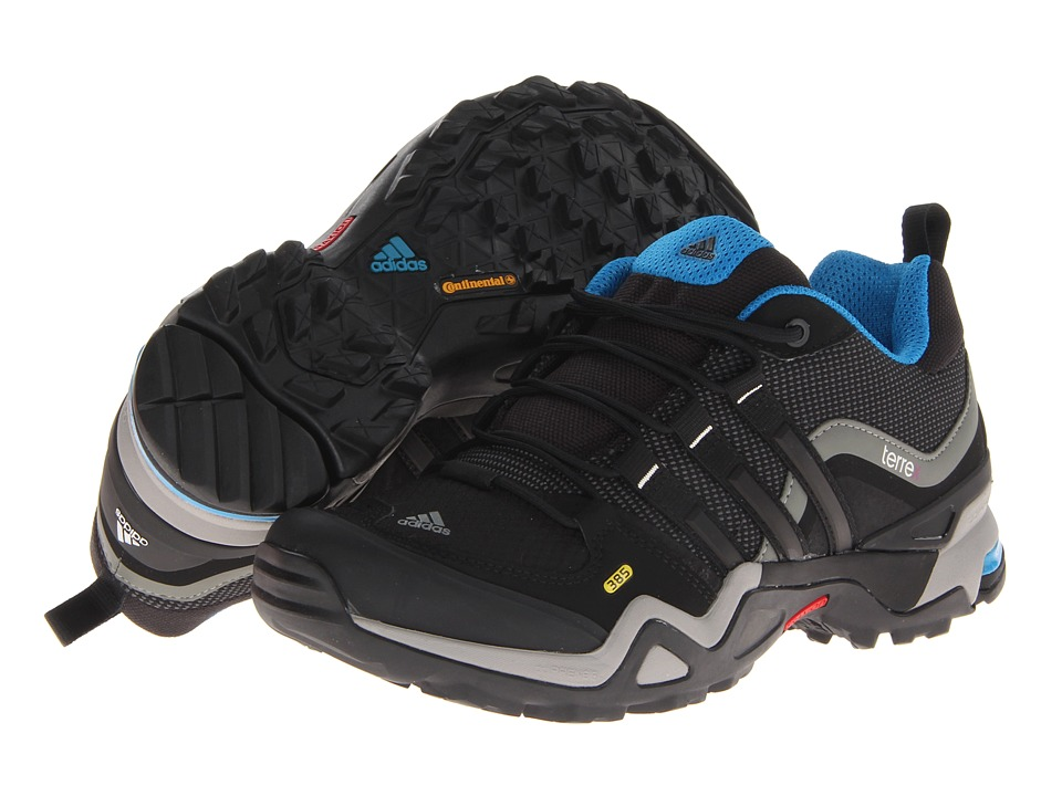 adidas Outdoor - Terrex Fast X W (Carbon/Black/Dark Solar Blue) Women