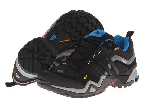 adidas Outdoor - Terrex Fast X GTX W (Carbon/Black/Dark Solar Blue) Women's Shoes